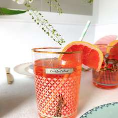 Elderflower Aperol Spritz Cocktail Recipe - Chic Animal Fair Dinner Party