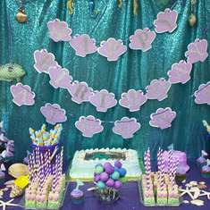 1st Birthday Mermaid Party - Mermaid