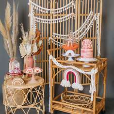 Boho Rainbow Bridal Shower - Boho Rainbow