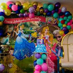 Princess Zahabiyah's 5th Virtual Birthday Party - Disney Princesses