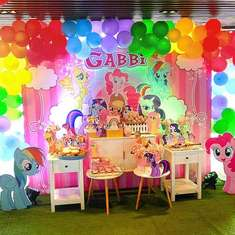 Gabbi's My Little Pony Birthday Party! - My Little Pony