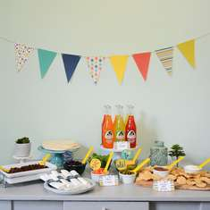 Taco Bar Party - Fiesta theme