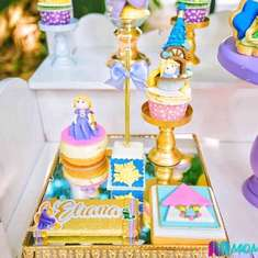 Eliana's Rapunzel 1st birthday party - tangled theme party