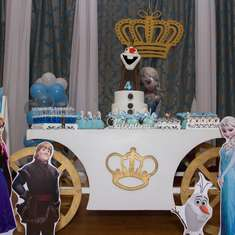 Valentina's Frozen birthday - Frozen (Disney)