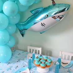 Shark Birthday Party - Shark Theme