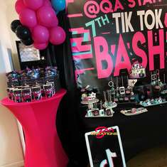 Qa'Syah's 7th Birthday BASH  - TikTok Inspired Theme
