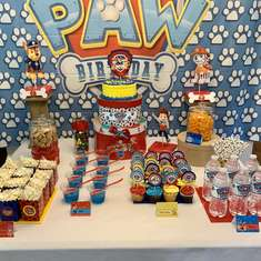 Gabe's 2nd birthday  - Paw patrol