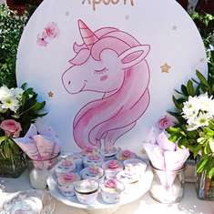 Unicorn Chic Baptism - Unicorn