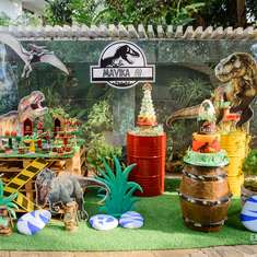 """Jurassic Theme Party""  - Jurassic World"