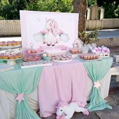 Pastel Unicorn Themed Baptism - Unicorn