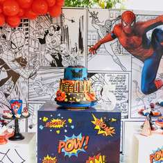Spiderman party - Spiderman