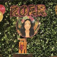 ROAR! Chelsea is Four - Katy Perry Roar / Jungle