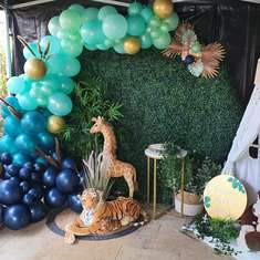 Wild One Birthday - Safari/Jungle Themed