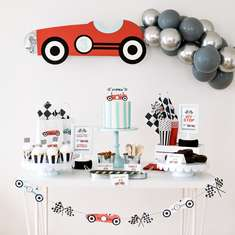 Vintage Race Car Birthday Party - Vintage Race Car