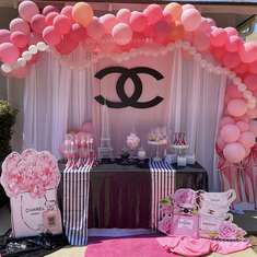 Pretty In Pink Chanel Drive By Baby Shower  - Designer Chanel/ Paris