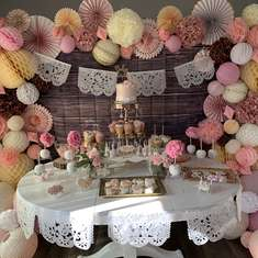 Vintage Mexican Themed Baby Shower - Vintage Mexican