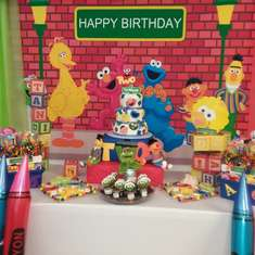 T is for Ta'Niyah's 2 is the number of the day - Sesame Street