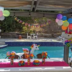 Rainbow Unicorn Birthday Party - Rainbow Unicorn