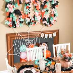 Chic Colorful Kids Halloween Party - Halloween