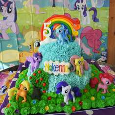Makenna's Little Pony Party - My Little Pony