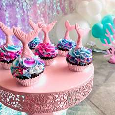 Pastel Mermaids 6th Birthday Party - Mermaids