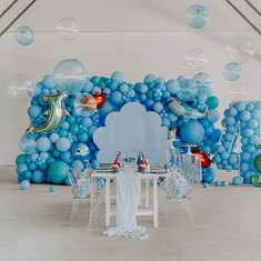 Under the sea birthday party - Under the sea themed 4th birthday party