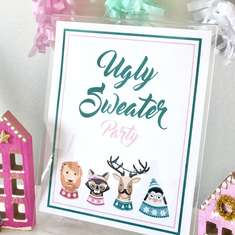 Ugly Sweater Party - Animals