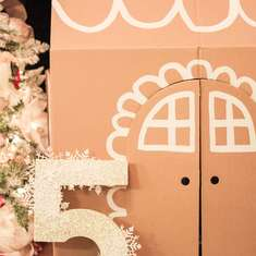 Gingerbread Princess Party - Gingerbread House