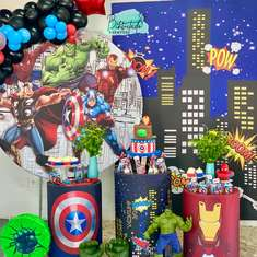 Vicente's Avengers Birthday Party - Superheroes