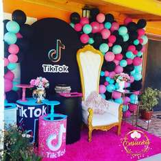 TikTok birthday party  - Tik tok