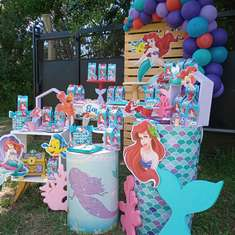 Elena's Little Mermaid Birthday Party - La Sirenita