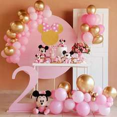 Pink Minnie Mouse Birthday Party - Minnie Mouse