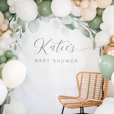 Katie's Boho Chic Greenery Baby Shower - Boho Chic Greenery