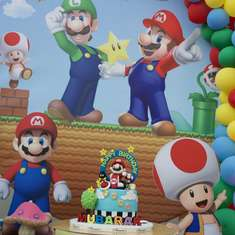 Super Mario Bros Birthday Party - Super Mario Bros