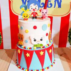 Valen's Circus Birthday Party - Plim plim y el circo