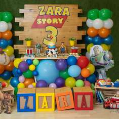 Zara's Story 3 party - Toy Story