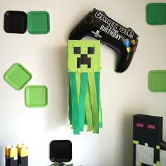 Minecraft birthday party - Minecraft
