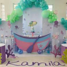 Kamila's Under the Sea Birthday Party - Under the Sea