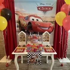 Tino's Disney Cars birthday party - Cars (Disney movie)
