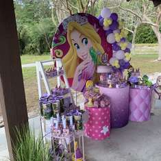 Mackenzie's birthday party  - Rapunzel / Tangled
