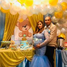 Teddy bear  baby shower - Teddy bear