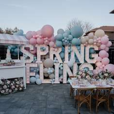 Spring Fling - Spring Celebration Birthday