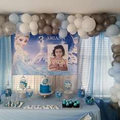 Ariana Frozen Birthday - Frozen Theme