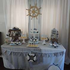 Javan's Beachy Nautical Baby Shower - Nautical Baby Shower