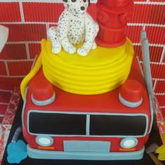H3 Baby Shower  - Fire Truck / Firefighter