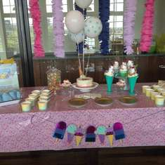 Ice Cream Social - Work Shower - Ice Cream Social