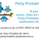 Party Printables By Akrivi D