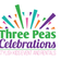 THREE PEAS Celebrations