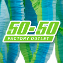 50-50 Factory Outlet