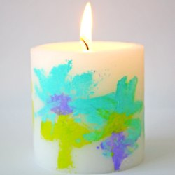 Art-candle-diy